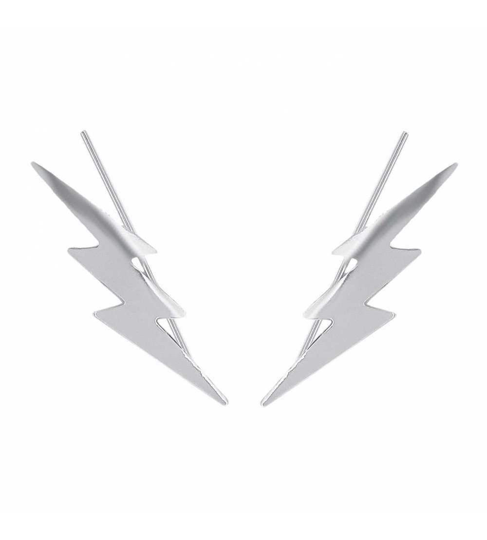Un par de trepadores con forma de doble rayo