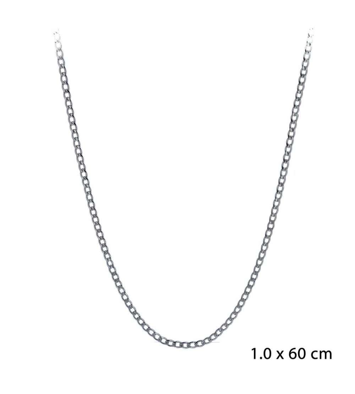 Una cadena de acero barbada de 1,00 x 60cm