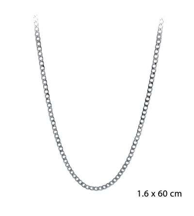 Una cadena de acero barbada 1,60 x 60 cm